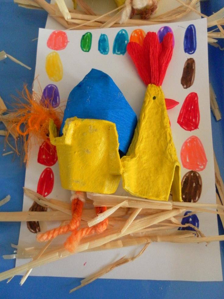 Trabalhos Páscoa | Creche e Pré-Escolar