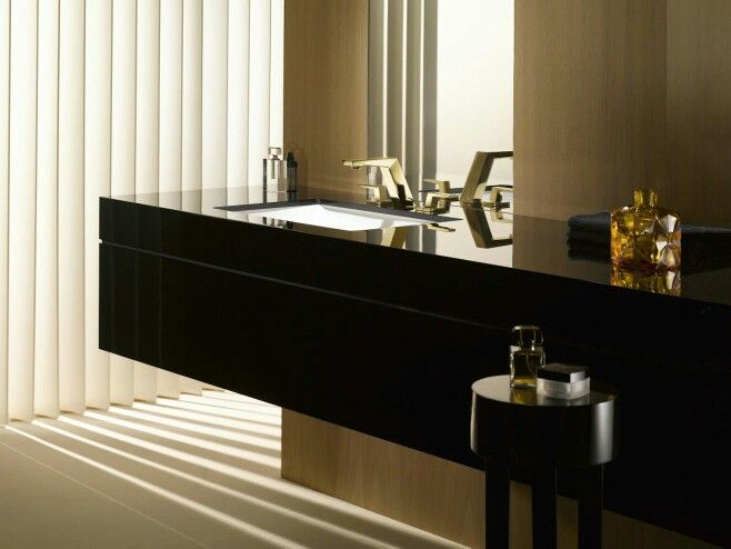 Faucets with a touch of luxury