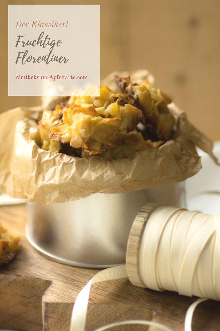 Wundervolles Rezept Fur Kostlich Fruchtige Florentiner Rezepte Lebensmittel Essen Platzchen Rezept
