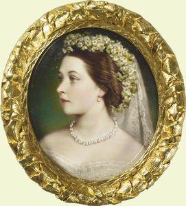 Victoria Princess Royal in her wedding dress
