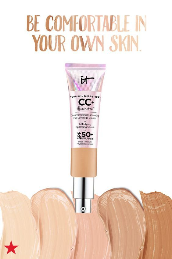 Find your beautiful with skincare, makeup and fragrances that make you feel like the best version of you. IT Cosmetics Your Skin But Better CC+ Cream gives ...