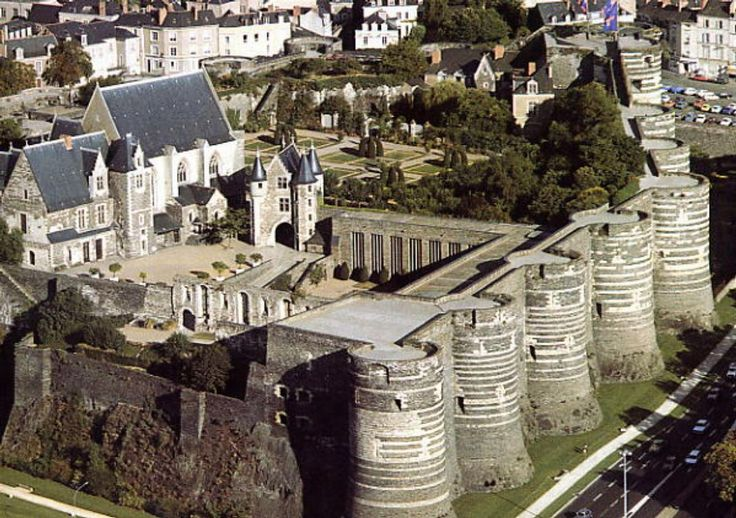 Chateau d'Angers. Loire, can I live there please? I need to fulfill my princess destiny!!!!