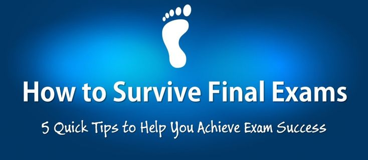 5 Quick Tips to Help You Survive Final Exams https://www.goconqr.com/en/examtime/blog/final-exams/ #exams #study #tips