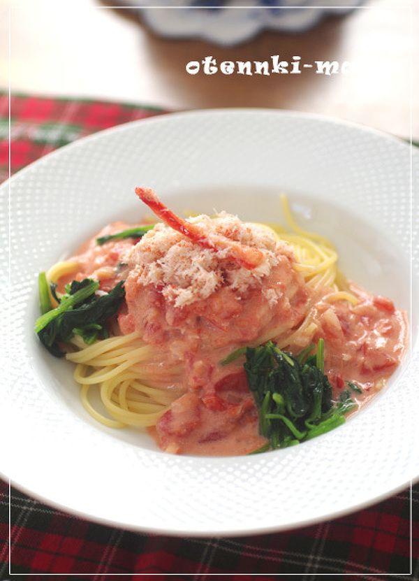とっても簡単・蟹とトマトのクリームパスタ by お天気ママ | レシピサイト「Nadia | ナディア」プロの料理を無料で検索
