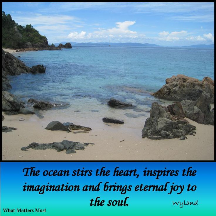 For those of us who love the sea - whether it is in it, on it or by it.