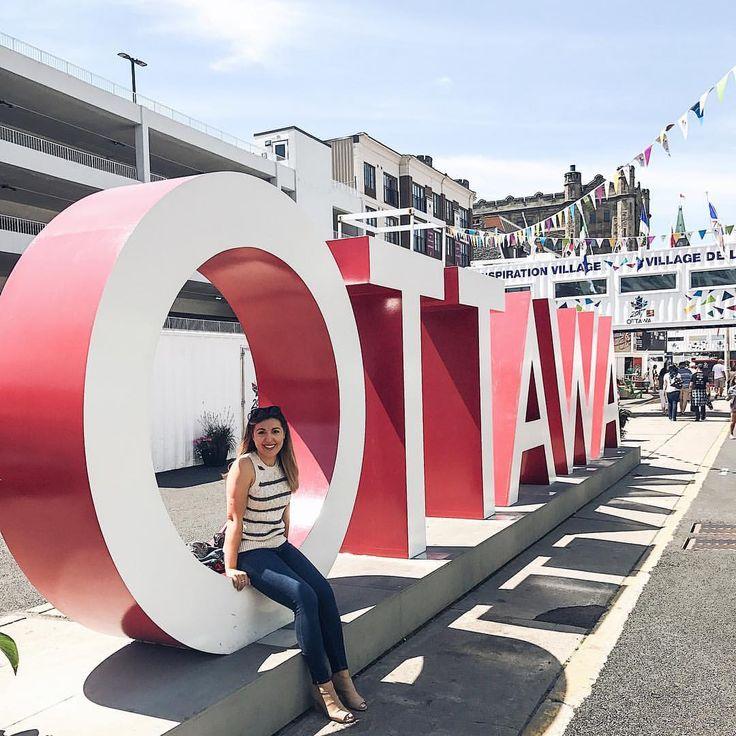 Ottawa Sign - Beautiful day in Ottawa! 🇨🇦 #canada150 #bywardmarket