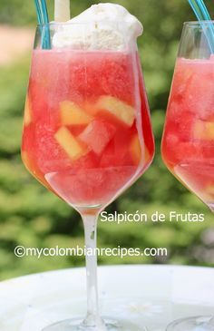 Salpicon de Frutas a la Colombiana