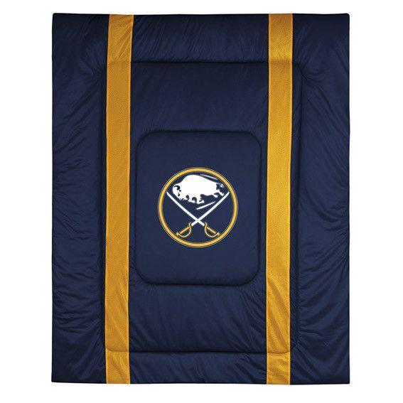 Buffalo Sabres Sidelines Bed Comforter