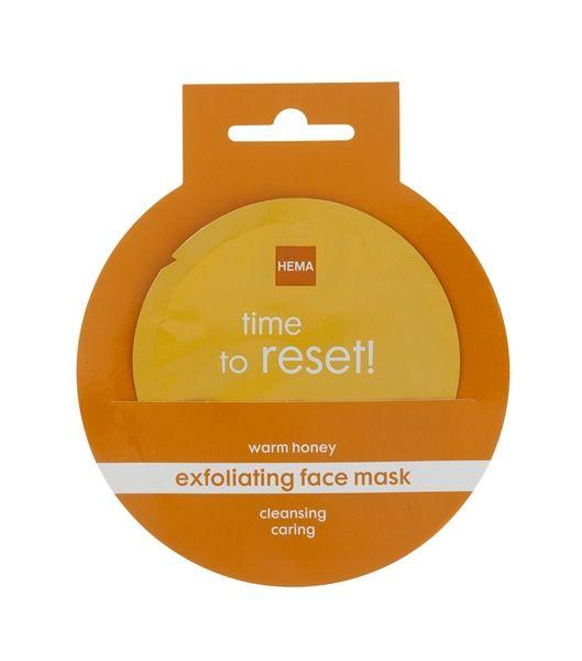 masque exfoliant chaud au miel pour le visage - HEMA