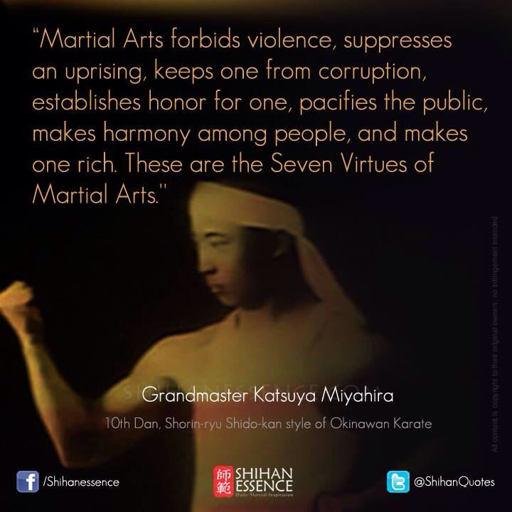 Martial arts quotes and wise sayings from masters