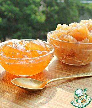 Яблочное желе с мятным вкусом