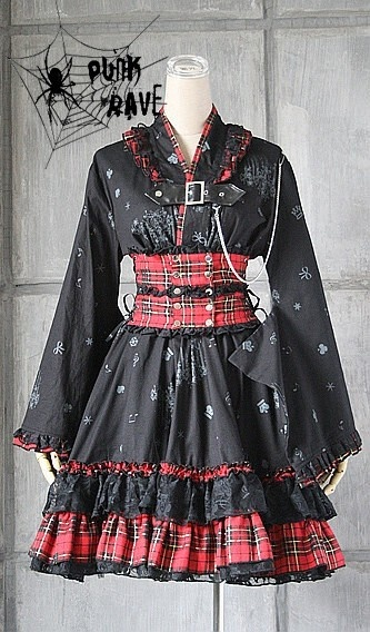 Awesome visual Kei dress