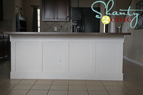 Diy Board And Batten Kitchen Island Kitchen Island Makeover Diy Kitchen Island Diy Kitchen