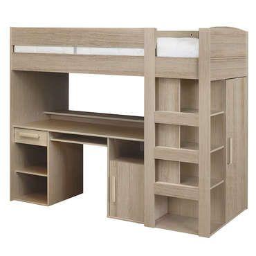 les 25 meilleures id es de la cat gorie lit mezzanine pas. Black Bedroom Furniture Sets. Home Design Ideas