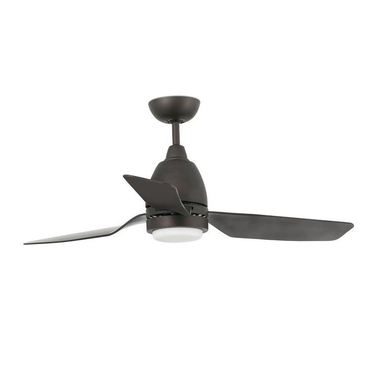 Ventilador de techo marrón Fogo 33469 con luz Ø 1120 de Faro [33469] - 197,85€ :