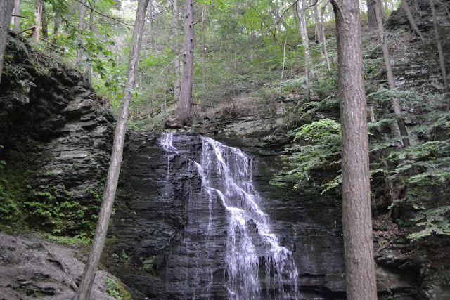 Водопады Бушкилл, Пенсильвания (Bushkill Falls, PA)