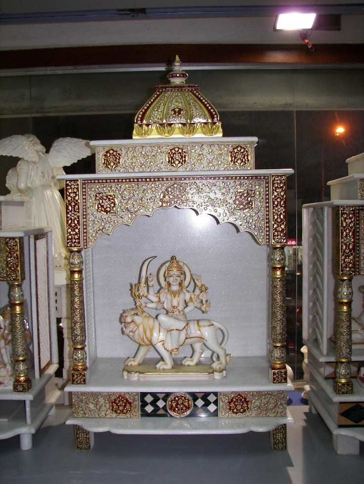 93 best images about puja mandir on pinterest hindus marble crafts and room ideas for Marble temple designs for home