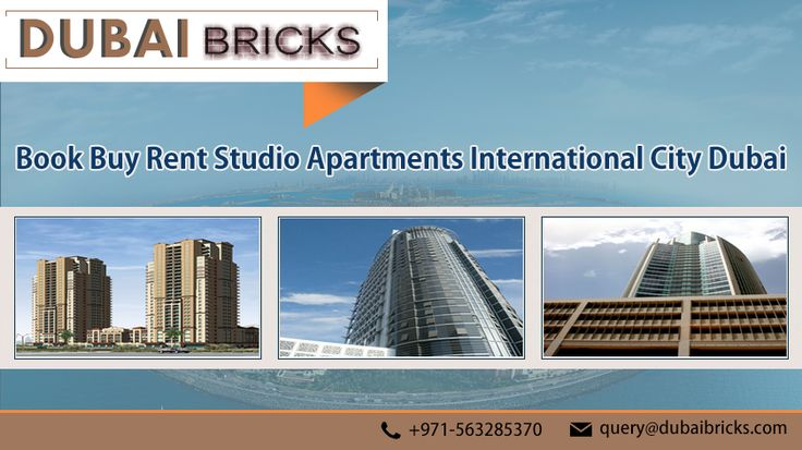 Book, Buy & Sell Studio #Apartments - dubaibricks.com