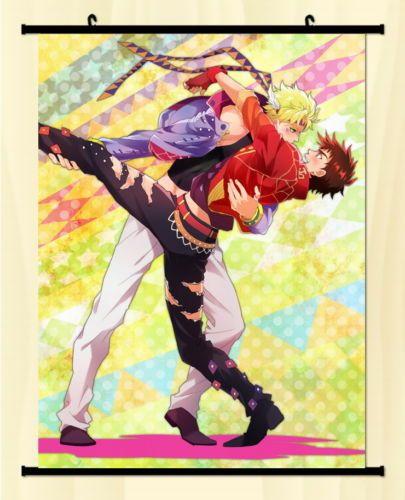 Decor-Wall-poster-Scroll-Jojo-JoJos-Bizarre-Adventure-Jotaro-Kujo-ver-Joseph