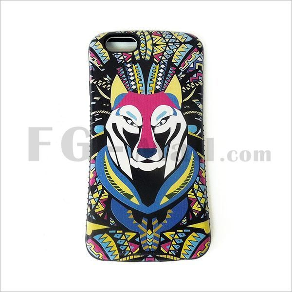 Wolf Print iPhone 6 Silicone Back Cover Protective Cases - FG-Mall.com