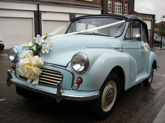 Morris Wedding Car by Bollops, via Flickr