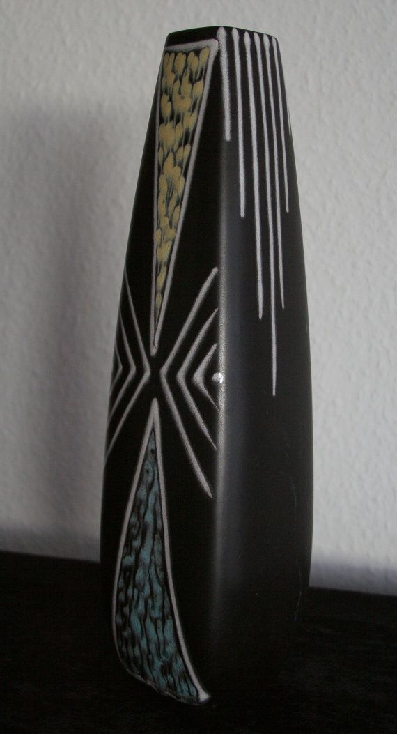 Søholm BURGUNDIA Large Vase Holm Sørensen Svend Jensen 2057-4 Danish Design Stoneware Soholm Bornholm