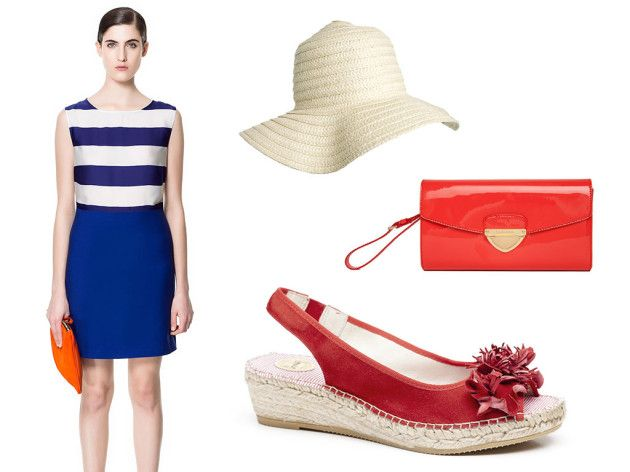 Trendy navy look with Vidorreta espadrilles