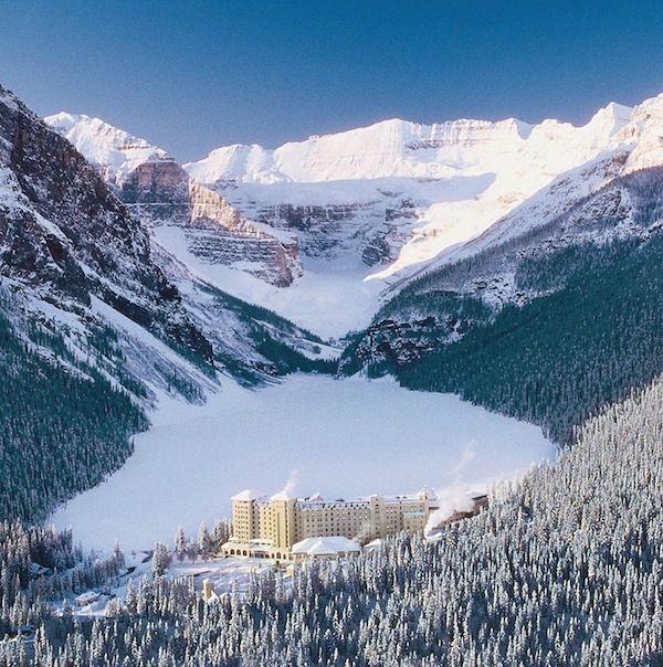 Fairmont Lake Louise- Winter
