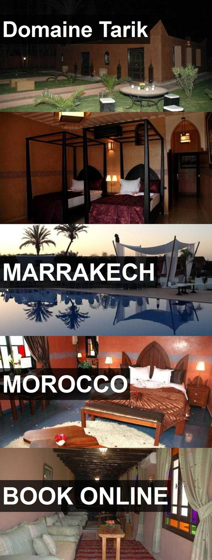 Hotel Domaine Tarik in Marrakech, Morocco. For more information, photos, reviews and best prices please follow the link. #Morocco #Marrakech #hotel #travel #vacation