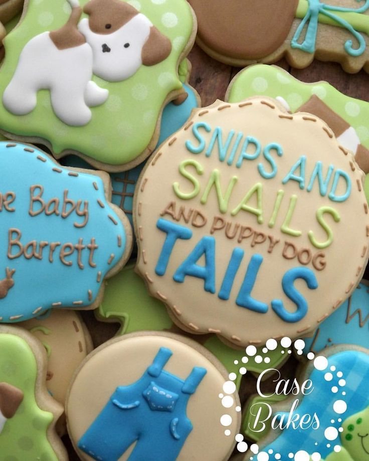 Snail Shower Design Ideas: 1001 Best Images About Decorated Sugar Cookies On