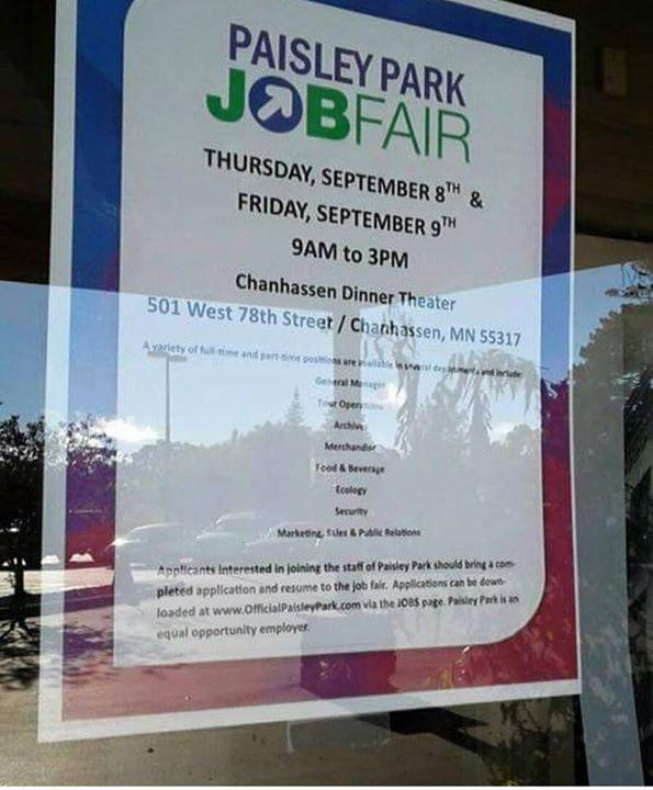 Job Fair for Paisley Park