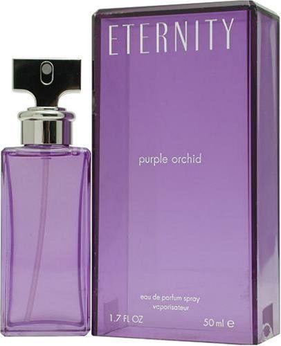 Eternity Purple Orchid by Calvin Klein for Women, Eau De Parfum Spray, 3.4 Ounce