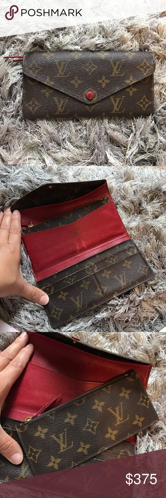 100% Authentic Louis Vuitton Wallet 100% authentic. Loved. No trades. Lost dust bag in move. Louis Vuitton Bags Wallets
