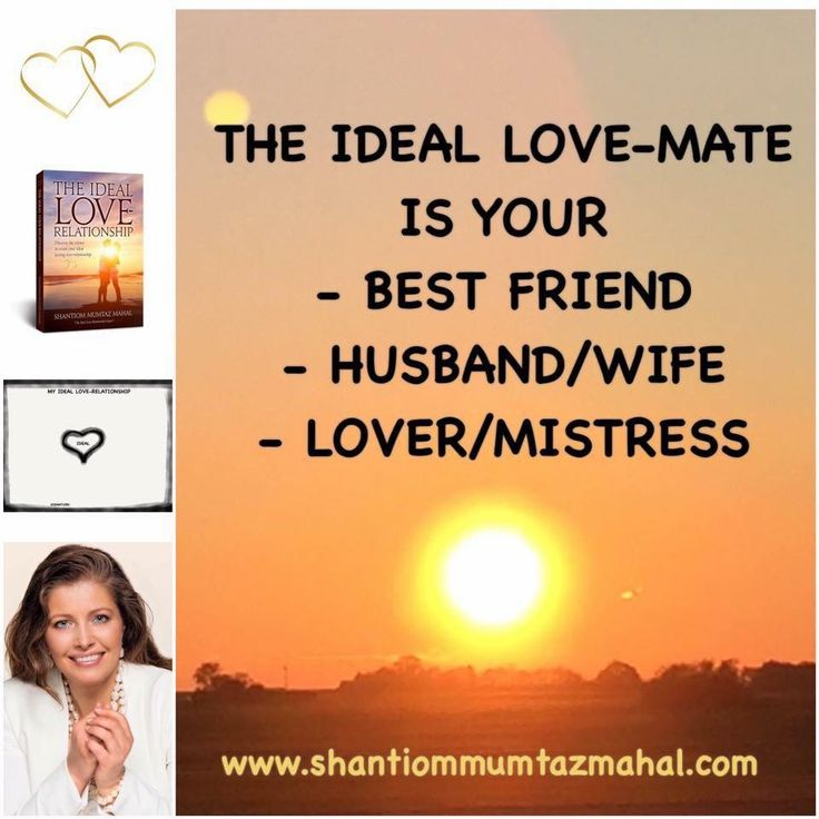 Most people want to live in an ideal love-relationship, but are still searching for the key/s to fulfill their dream. The moment we make the decision to experience it we begin a healing process, but if we also have a love-mate who wants the same, we can develop and share it together with him/her! You can buy my book and study and learn more about that process at my webpage: www.theideallove-relationship.com www.shantiommumtazmahal.com.