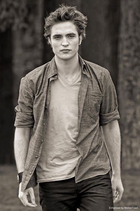 Edward Cullen Photo enhancement by Melbie Toast