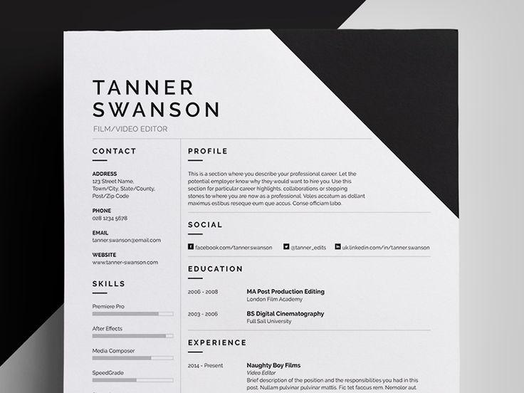 9 best CV Resume images on Pinterest
