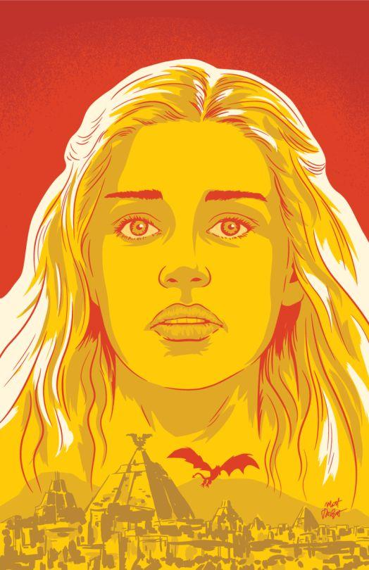 Daenerys Targaryen by Matt Talbot