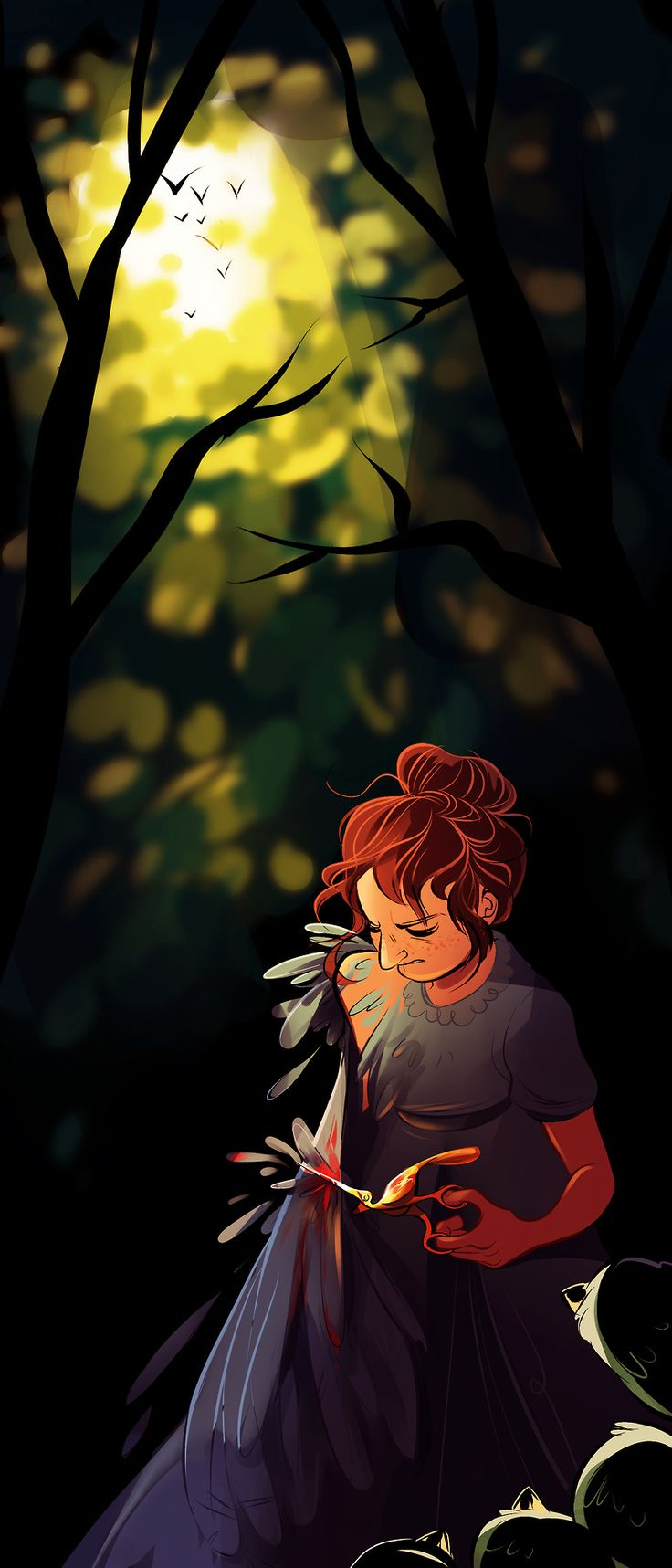 Just another dirt in the wall - Geniusbee Otgw Spoilers Adelaide Told Her To Clip Her Wings Her Family S Wings And Maybe That Was Just A Way To Trap Them In The Unknown Unable To Fly