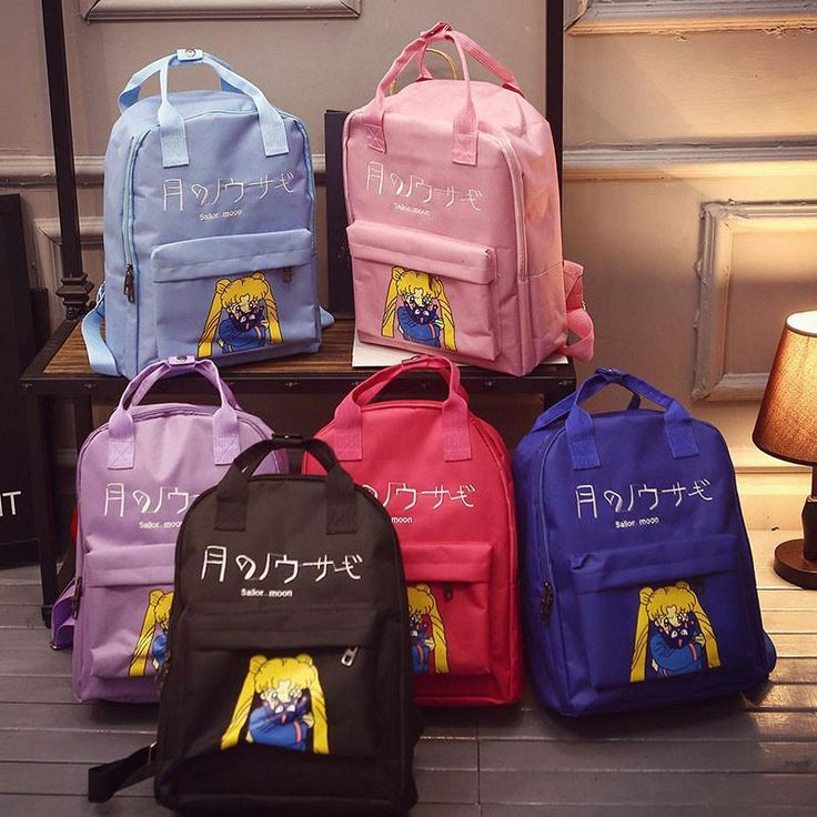 Sailor Moon Nylon Backpack   Best Price and Free Shipping Worldwide    #youngcitystore #styles #outfit