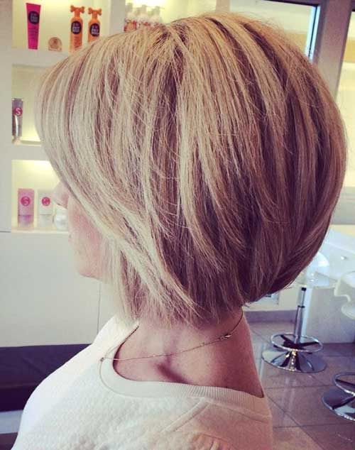 Back View Of Bob Haircuts | The Best Short Hairstyles for Women 2015