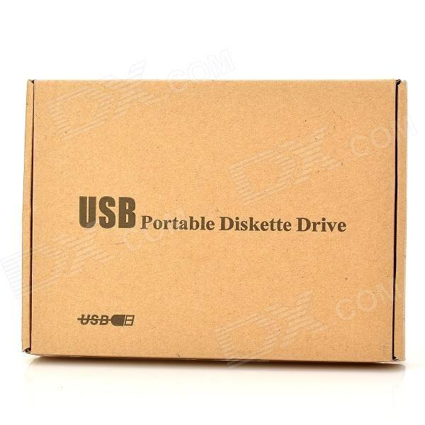 FDD-11 USB External FDD Floppy Drive - Black