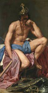 El dios Marte - Diego Velázquez