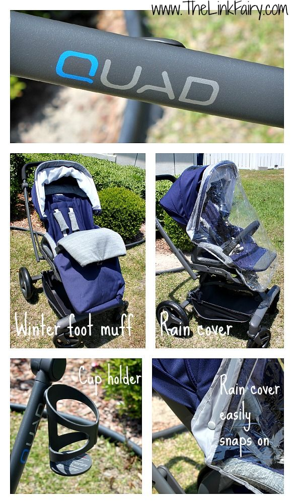 Included accessories with the Inglesina Quad Stoller - Review by @Link Fairy