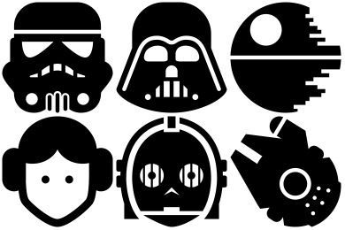 Free Star Wars Iconset (11 icons) | Sensible World