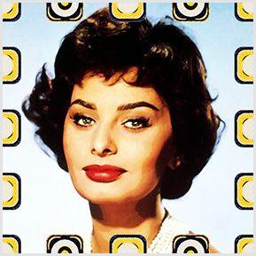 Sophia Loren.. Quadrinhos confeccionados em Azulejo no tamanho 15x15 cm.Tem um ganchinho no verso para fixar na parede. Inspirados em divas do cinema. Para entrar em contato conosco, acesse: www.babadocerto.com.br