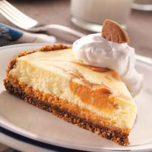 Snappy Pumpkin Cheesecake Recipe from Taste of Home