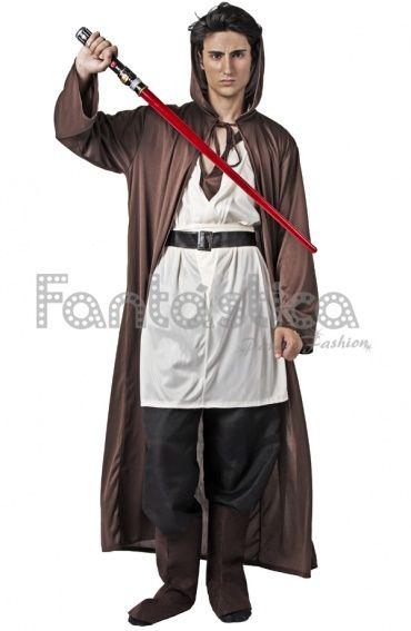 Disfraz para Hombre Maestro Jedi. Disfraces de Carnaval para Hombre. Disfraces de Star Wars.