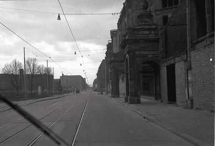 Berlin: Ostsektor; Leipziger Straße am Dönhoffplatz (1960)