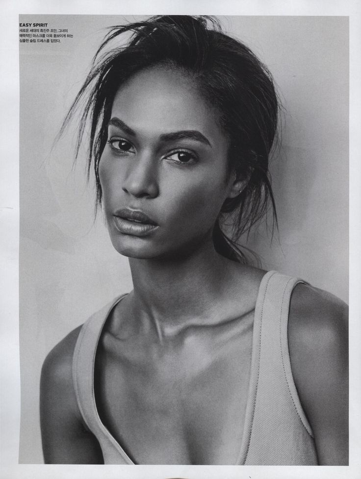 Joan Smalls, Vogue Korea, August 2014
