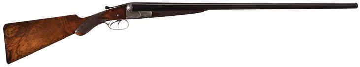Factory Engraved W.W. Greener Double Barrel Shotgun